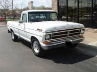 This is a 1971 Ford F250 Pickup Truck. This is a 2WD