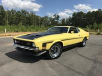 1971 Mustang Boss 351 Ram Air with only 33,692 miles on
