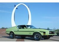 1971 Ford Mustang Mach 1, 2 door fastback, 8 cyl,