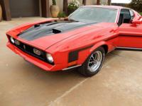 -1971 Mach 1 -351 Cleveland w/ 4 barrel Carb -(3) speed