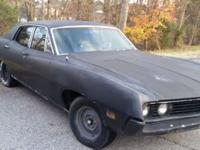 1971 Ford Torino 500 4 Door Sedan. Rebuilt 351