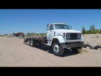 1971 GMC T6500 Ramp Truck. 25FT Bed- 33FT complete
