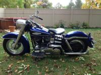 71 FLH, COOL OLD BIKE. TOP END DONE LAST SUMMER WITH