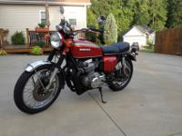 1971 Honda CB 750 K1 in great stock condition 12/70