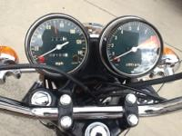 This motorcycle is like new with only 2100 miles on it,