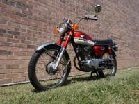 I have a classic 1971 Honda CB100 for sale. This has
