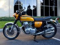 Beautiful 1971 Honda CB750K1 with all original body