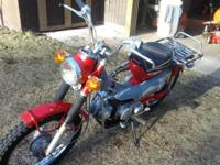 1971 Honda runs fresh looks real wonderful everything