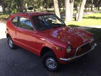 BEAUTIFULL, UNRESTORED 1971 HONDA Z600, CAR HAS ONLY