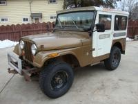 1971 Jeep CJ5 with the 225 Dauntless V6, 3 speed manual