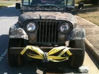 1971 CJ 5 is an awesome tough JEEP.. I bought it for a