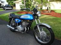 1971 KAWASAKI 500 H1A, this bike is an Original Time