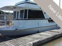 1971 Kingscraft 40 Features: All Aluminum Boat Twin