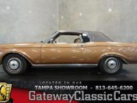 Stock #469-TPA 1971 Lincoln Continental Mark lll