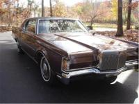 You are looking at a 1971 Lincoln Continental Mark III