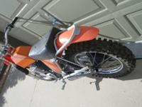 This is for a 1971 Maico 501 2-stroke dirt bike. I