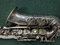 Absolutely incredible Mark VI Alto sax in original