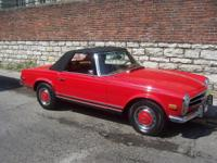1971 Mercedes-Benz 200-Series 280 SL Leather Seats. NEW