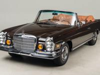 1971 Mercedes-Benz 280 SE 3.5 Cabriolet VIN: 93 Built