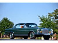 This 1971 Mercedes-Benz 280SE 3.5 Liter Coupe . It is