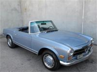 1971 Mercedes Benz 280SL with 2 tops Here is a 1971