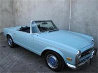 1971 Mercedes Benz 280SL This is a, 1971 Mercedes Benz