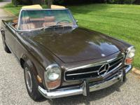 This is a 1971 Mercedes 280SL. This car is a very solid