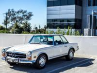 This car is a great example of a 280SL and runs as good