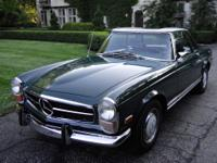 This car has spent most of its life garaged. This 280SL
