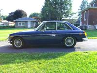 Offered is a 1971 MGB/GT. Restored 17,000 miles back. 1