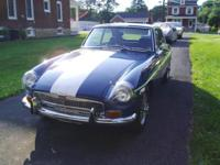 Here is a 1971 MGB/GT. 4spd W/overdrive, 17,000 miles