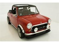 1971 MINI COOPER 1300 INNOCENTI CONVERTIBLE. Finished