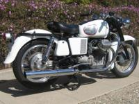 1971 Moto Guzzi Amabssador. This bike is an incredibly