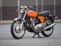 1971 Norton Commando 750 RestorationThe bike was