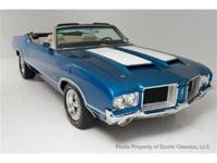 Exotic Classics is pleased to offer this 1971