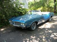 1971 Oldsmobile Cutlass Convertible Rocket 350 Power