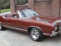 1971 Olds Cutlass Supreme Convertible that was