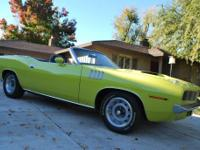 Plymouth 'cuda 340 Convertible, , 1 of 102 built, all