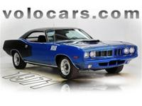 CALL TODAY FOR DETAILS ON THIS VERY DESIREABLE CUDA.