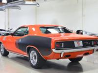 1971 HEMI CUDA SURVIVOR 4-SPEED !!! 1 OF ONLY 59 CARS