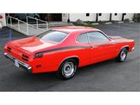 1971 PLYMOUTH DUSTER 340 TRIBUTE, 360 V8, SUTO TRANS