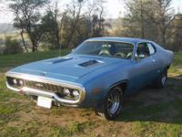 1971 Plymouth GTX (Grand Touring X-perimental)Only