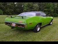 1971 Plymouth GTX! This car has been part of a private