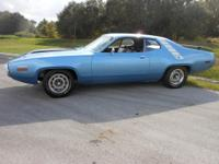 1971 Road Runner 440 6 pack, automatic, sure-grip rear