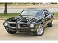 This triple-black, air conditioned, 1971 Pontiac