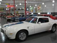 1971 PONTIAC TRANS AM, 455 HO ENGINE, AUTOMATIC