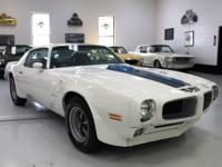 1971 Pontiac Firebird Trans Am 71741 Miles White 455