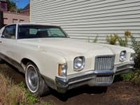 1971 Pontiac Grand Prix - Model J ORIGINAL, NUMBERS