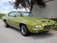 1971 Pontiac GTO ..34,408 Original Miles Documented