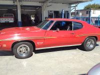 1969 Pontiac GTO The Judge Hardtop Carousel Red for Sale in